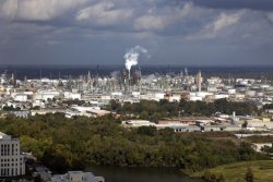 Refinery in Baton Rouge Louisiana photo
