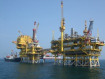 offshore oil rig photo