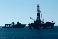 Oil Platform Offshore Photo